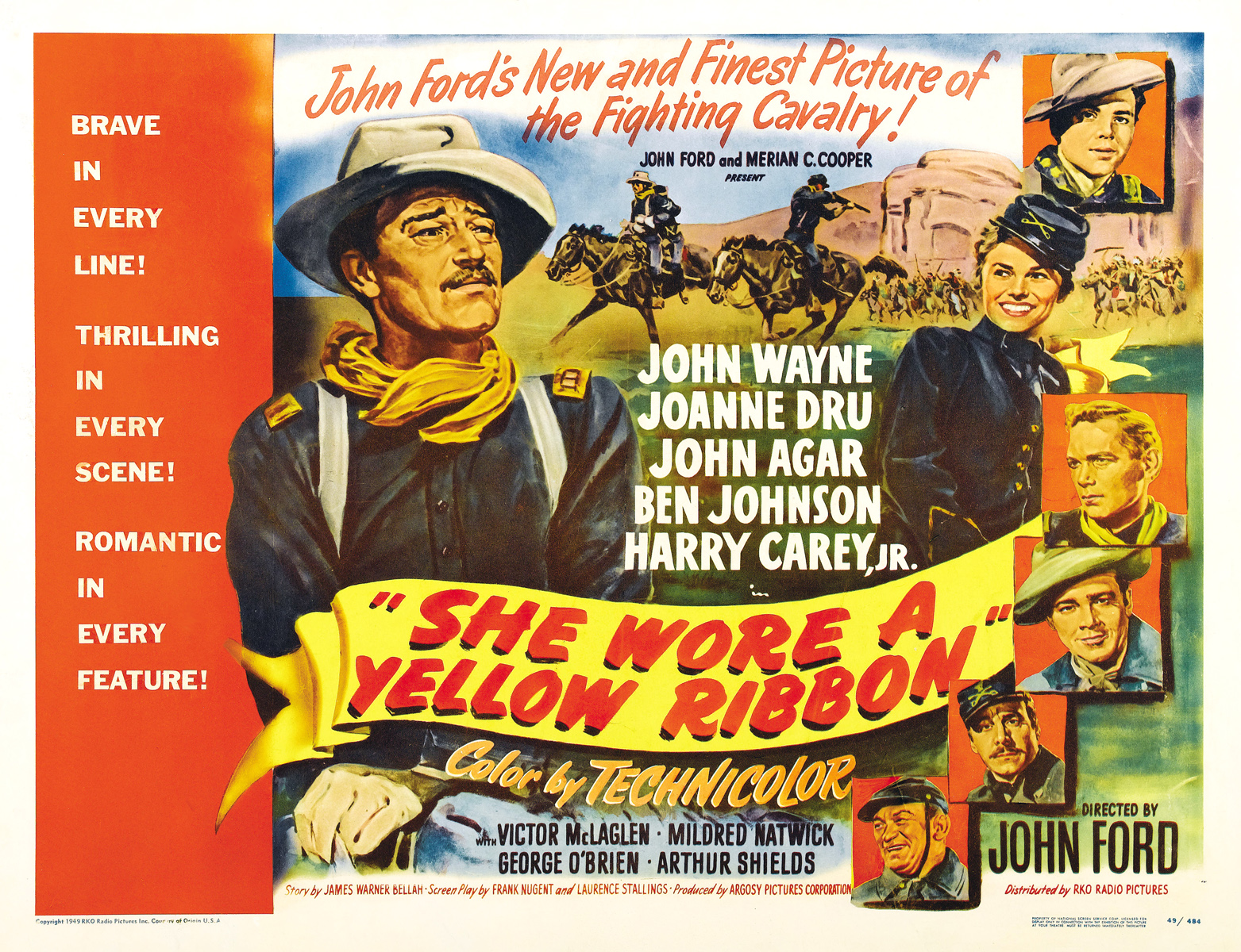 Movies My Dad Likes For Christmas: She Wore a Yellow Ribbon [1949 ...